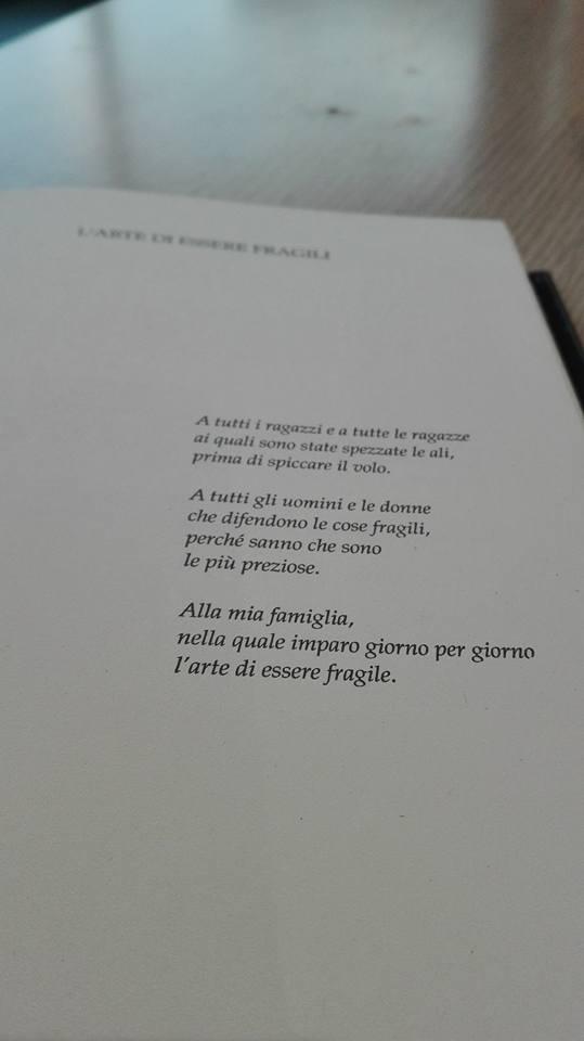 L Arte Di Essere Fragili Alessandro D Avenia Amante Di Libri
